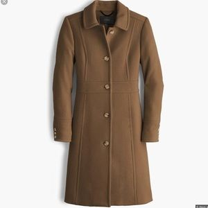 NWT J.crew lady day coat with thinsalute
